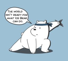 The world isn't ready for what Ice Bear can do - We Bare Bears - Cartoon Network One Piece - Short Sleeve