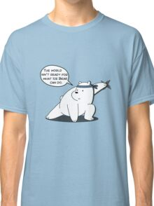 The world isn't ready for what Ice Bear can do - We Bare Bears - Cartoon Network Classic T-Shirt