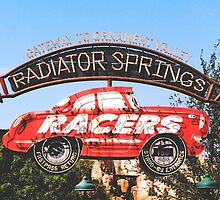 Radiator Springs Racers by TheConcertKid