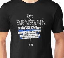 Engineering Is Easy Like Riding A Bike Unisex T-Shirt