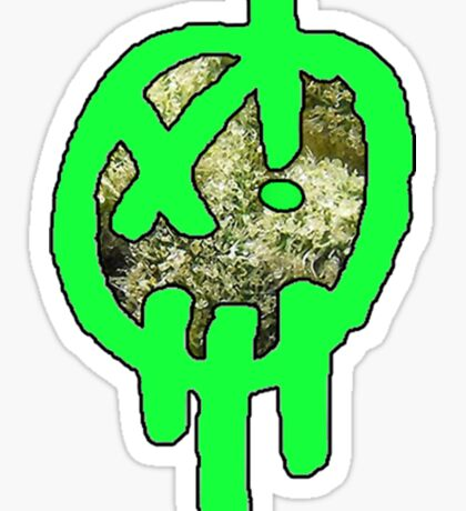 420 Xenzo Skunk Face Sticker