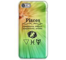 Pisces Star Sign Design iPhone Case/Skin