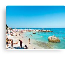 Capri : Italy's Bay of Naples : Amalfi Coast Canvas Print