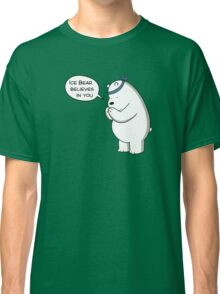 Ice Bear Believes In You - We Bare Bears - Cartoon Network Classic T-Shirt