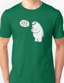 Ice Bear Believes In You - We Bare Bears - Cartoon Network T-Shirt