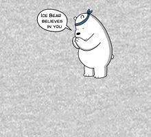 Ice Bear Believes In You - We Bare Bears - Cartoon Network Women's Fitted Scoop T-Shirt