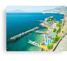 Seaside View : Sorrento : Bay of Naples, Italy Canvas Print
