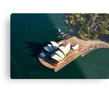 Shadows of the Sydney Opera House Metal Print
