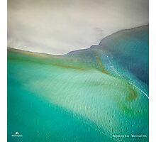 Roebuck Bay Aerial Photographic Print
