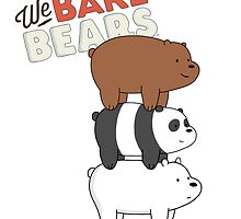 We Bare Bears - Cartoon Network by DomCowles12
