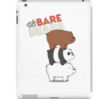 We Bare Bears - Cartoon Network iPad Case/Skin