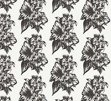 Floral in Ink by alexawestart