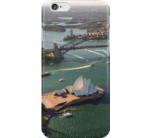 Sydney Harbour from the Sky iPhone Case/Skin