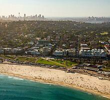 Aerial Bondi Beach by Ana Andres-Arroyo