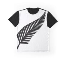 All Whites Silver Fern Graphic T-Shirt
