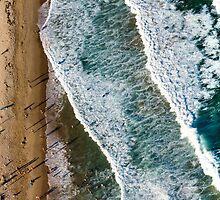 Aerial Maroubra Beach by Ana Andres-Arroyo