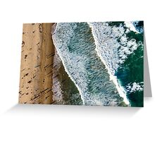 Aerial Maroubra Beach Greeting Card