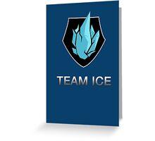 Team Ice Greeting Card
