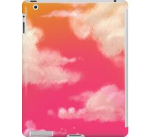 Sunset through the clouds iPad Case/Skin