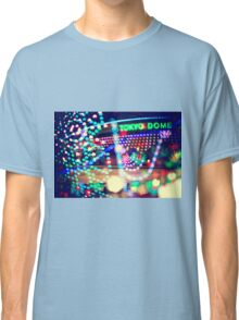 Love Tokyo Dome Colorful Psychedelic Heart Bokeh Lights  Classic T-Shirt