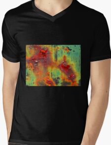 Colours of a Rusty Sign Mens V-Neck T-Shirt