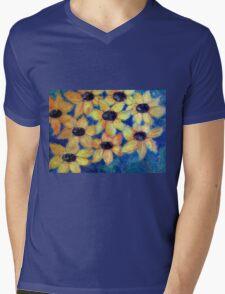 Sunflowers are smiling Mens V-Neck T-Shirt