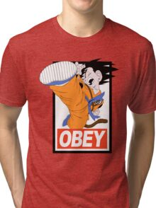 Kid Goku Tri-blend T-Shirt
