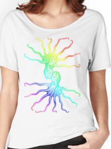 Rainbow Octopus Women's Relaxed Fit T-Shirt