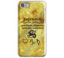 Capricorn Star Sign Design iPhone Case/Skin