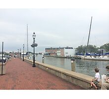 Downtown Annapolis Photographic Print