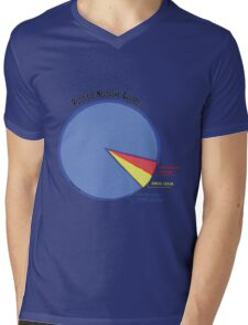 Headache Causes Pie Chart Mens V-Neck T-Shirt