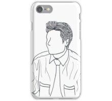 Mulder Outline iPhone Case/Skin