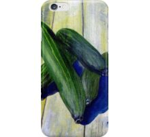 As cool as a cucumber iPhone Case/Skin