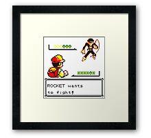 Team Rocket Framed Print