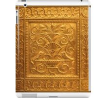 Embossed Brass Birds Panel - Fisher Building  iPad Case/Skin