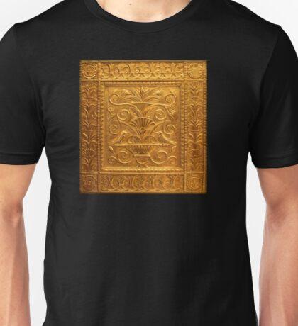 Embossed Brass Birds Panel - Fisher Building  Unisex T-Shirt