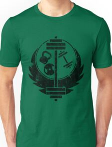 Aged brotherhood of steel (Gym edition) Unisex T-Shirt