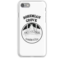 Bohemian Grove Cremation of Care iPhone Case/Skin