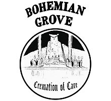 Bohemian Grove Cremation of Care Photographic Print