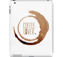 Coffee Lover iPad Case/Skin