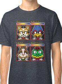 Star Fox Comm Faces - Pixel Art Classic T-Shirt