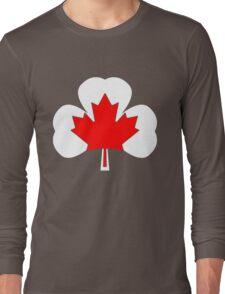 Irish Canadian/Canadian Irish Long Sleeve T-Shirt
