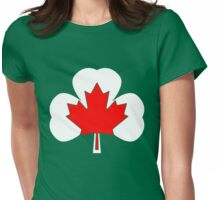 Irish Canadian/Canadian Irish Womens Fitted T-Shirt