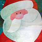 Santa Face by Susan S. Kline