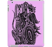 Four Animals Aussie Tangle iPad Case/Skin