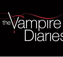 The Vampire Diaries Logo  by Kloud-8-TV