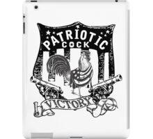 PATRIOT COCK! iPad Case/Skin