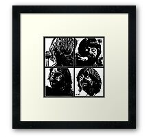 Night of the Liverpool Dead Framed Print