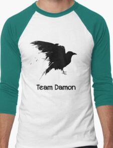 Team Damon: Raven Men's Baseball ¾ T-Shirt