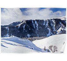 Bald Mountain (Mount Baldy), Sun Valley Idaho Poster